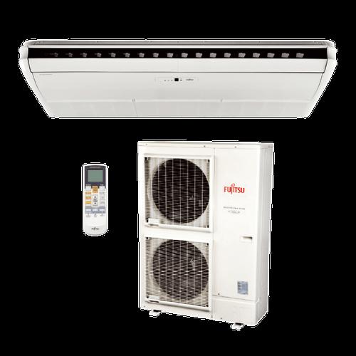 Ar Condicionado Split Piso Teto Inverter Fujitsu 42.000 BTUs Quente/Frio 380V Trifásico