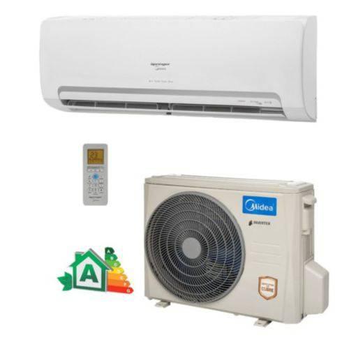 Ar Condicionado Split Wall Springer Midea Inverter 9000 Btu/h Quente/Frio 220v