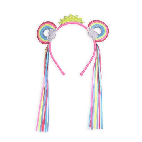 Arco Carnaval Pedacinho do Arco Iris Rosa Fluor/u