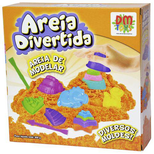 Areia Divertida Bichos - Dm Toys