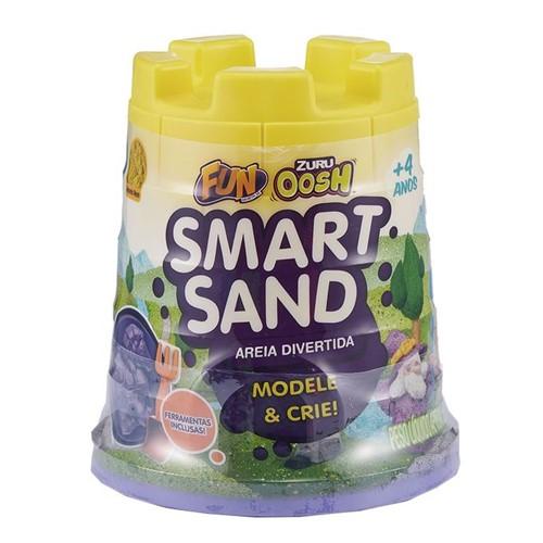 Areia Divertida - Smart Sand - Amarelo Neon - Fun - FUN
