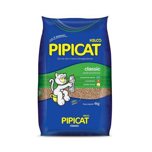 Areia Sanitária Pipicat Classic 4kg