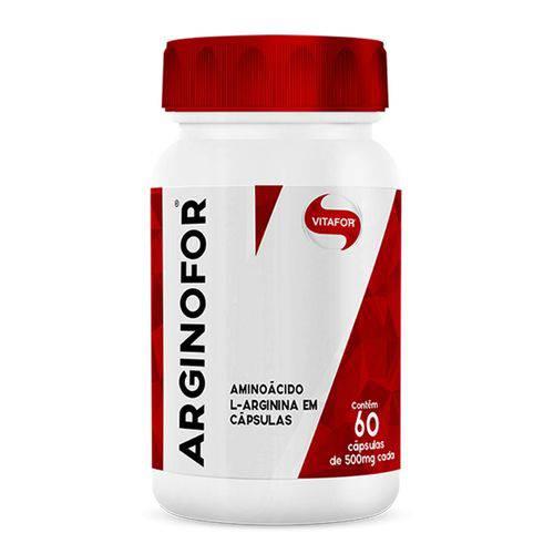 Arginina Arginofor - Vitafor - 60 Cápsulas