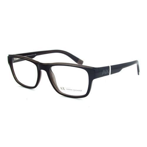 Armani Exchange Ax 3018 1840 Preto T53 Óculos de Grau