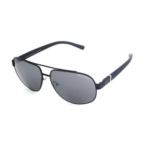 Armani Exchange Ax 2019sl 6063 6g Preto T60 Óculos de Sol