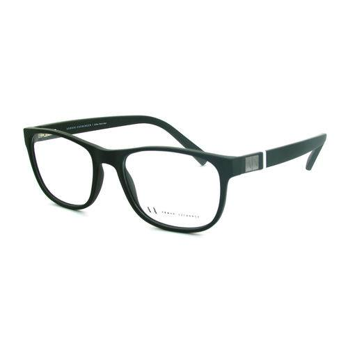 Armani Exchange Ax 3034l 8196 Verde T54 Óculos de Grau