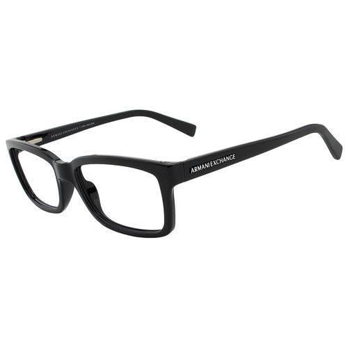 Armani Exchange Ax 3022l 8158 Preto T54 Óculos de Grau