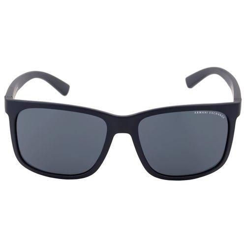 Armani Exchange Ax 4041 S - Óculos de Sol 8157/87 Azul Fosco/ Preto - Lente 5,8 Cm
