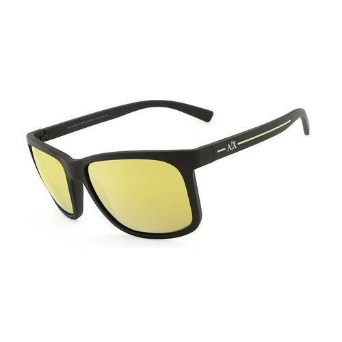 Armani Exchange Ax 4041sl 8062 5a Marrom Fosco T58 Óculos de Sol