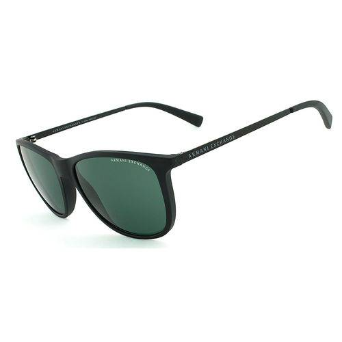 Armani Exchange Ax 4047 8078 71 Preto Fosco T57 Óculos de Sol