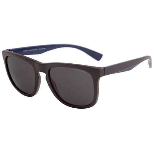 Armani Exchange Ax 4058sl 820173 Preto Fosco T55 Óculos de Sol