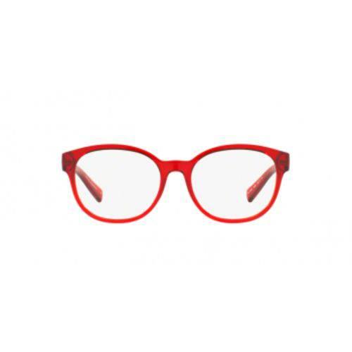 Armani Exchange AX3040L 8209 Vermelho Transparente Lente Tam 53