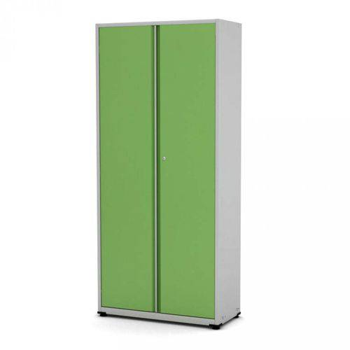 Armário de Aço 2 Portas AP403M Pandin Móveis Verde Miró