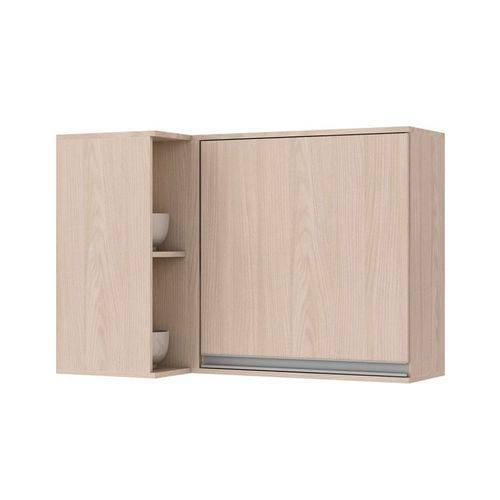 Balcão de Cozinha Henn Connect Canto Reto 1 Porta S/ Tampo - Cor Fendi HP