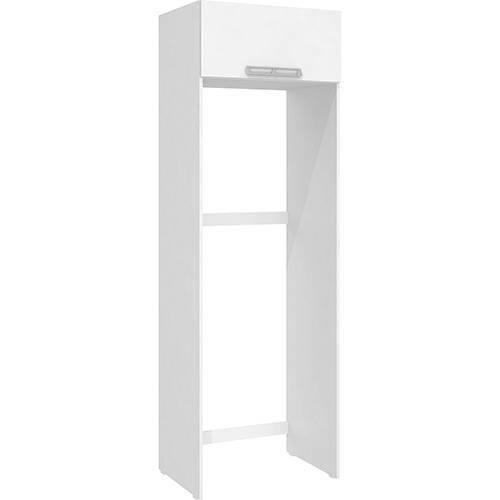 Armário de Geladeira Art In Móveis Cz705 1 Porta Basculante Branco - 215x70x50,2cm