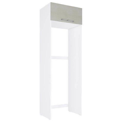 Armário de Geladeira C/ 1 Porta Basculante CZ705 - Art In Móveis | Cor: Branco