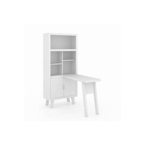 Armário Escrivaninha Me4125 Tecno Mobili Branco