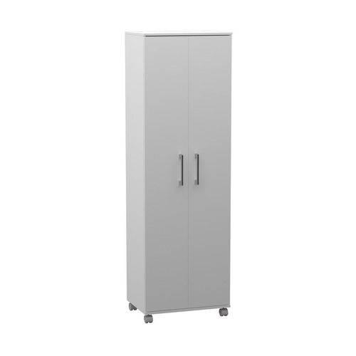 Armario Multiuso Alto 2 Portas Branco