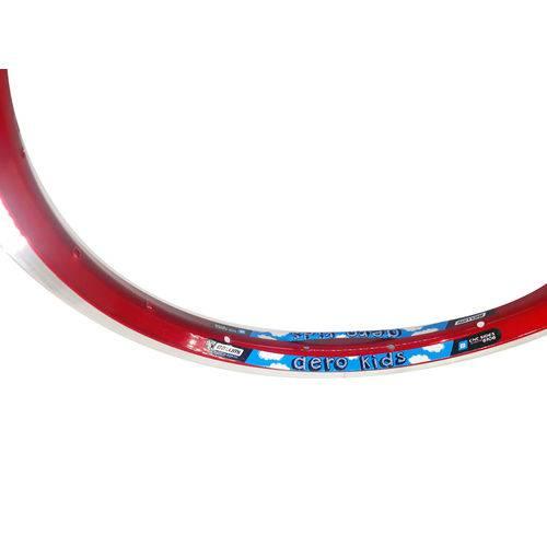 Aro Aero 16 Alumínio Cor Vermelho Belumi