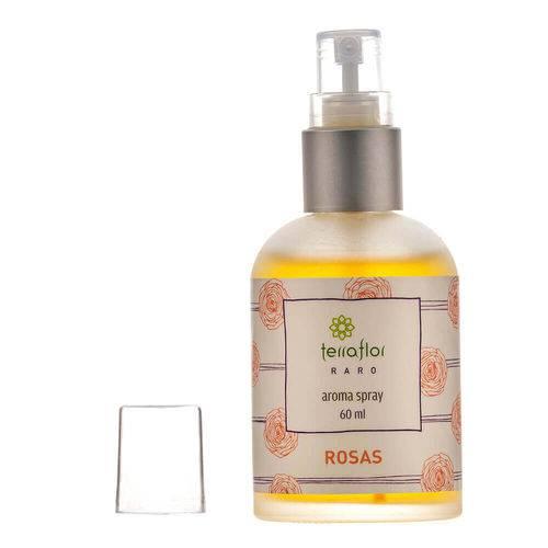 Aroma Spray Natural de Rosas para o Corpo e Ambiente 60ml – Terra Flor