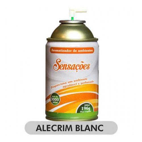Aromatizador de Ambiente - Aerossol Sensações - Alecrim Blanc
