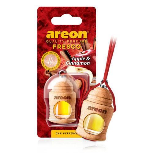 Aromatizante de Carro Areon Fresco Apple Cinnamon Maçã Canela Perfume Automotivo
