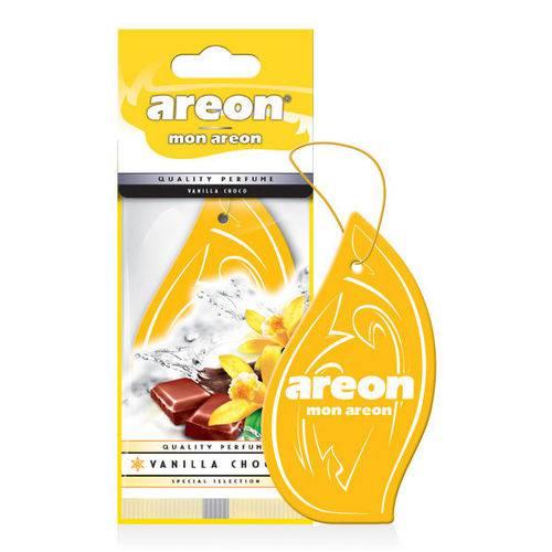 Aromatizante de Carro Sache Areon Mon Vanilla Choco - Perfume Automotivo