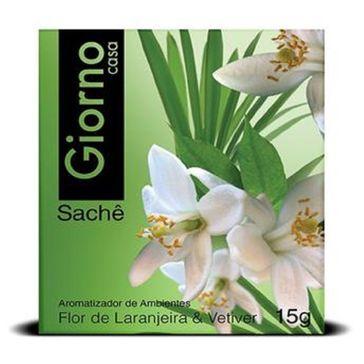 Aromatizante Giorno Flor de Laranjeira Sachê 15g