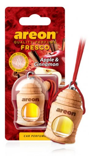 Aromatizante para Carros Areon Fresco Apple & Cinnamon (Maçã e Canela) 957106