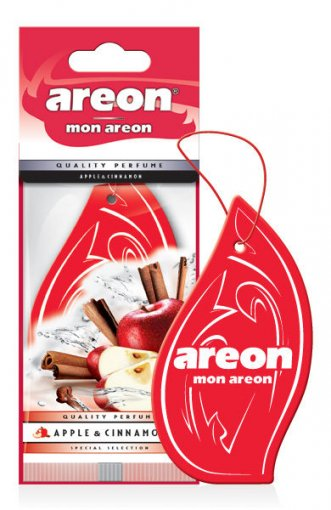Aromatizante para Carros Mon Areon Apple & Cinnamon 955508