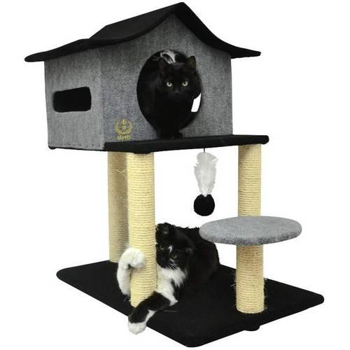 Arranhador Casa de Cuco para Gatos