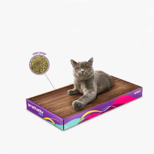 Arranhador para Gatos em Papelão com CatNip