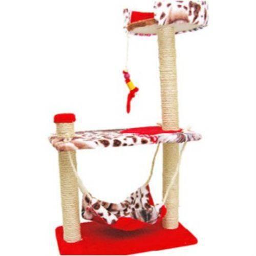 Arranhador para Gatos Modelo Balanço Rede