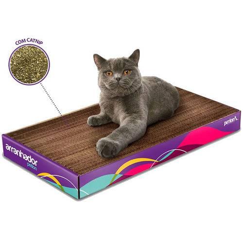 Arranhador Petlon para Gatos de Papelão com Catnip 48,5cm