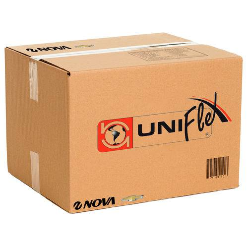 Arremate Superior do Para-brisa Uniflex Meriva 2002 a 2012