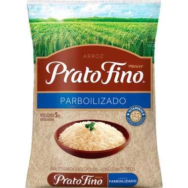 Arroz Parboilizado Prato Fino 5kg