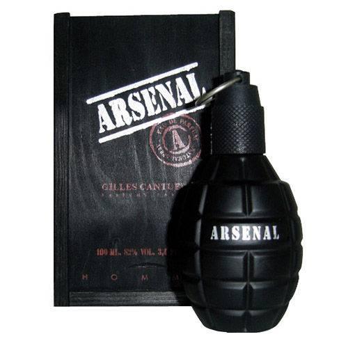Arsenal Black Gilles Cantuel - Perfume Masculino - Eau de Parfum