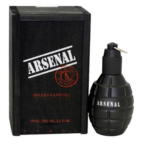 Arsenal Black Masculino Eau de Parfum 100ml