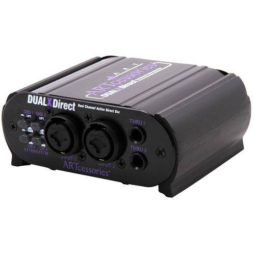 Art Dual Xdirect Active Direct Box 02 Canais Profissional