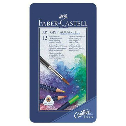 Art Grip Aquarelle Lápis de Cor 12cores Faber-Castell 114212