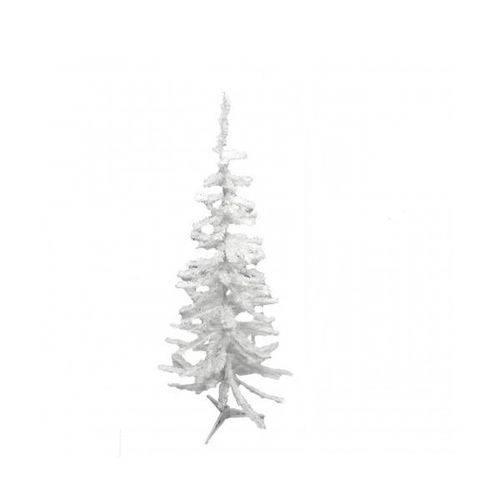 Arvore de Natal 90 Cm Branca 90 Galhos