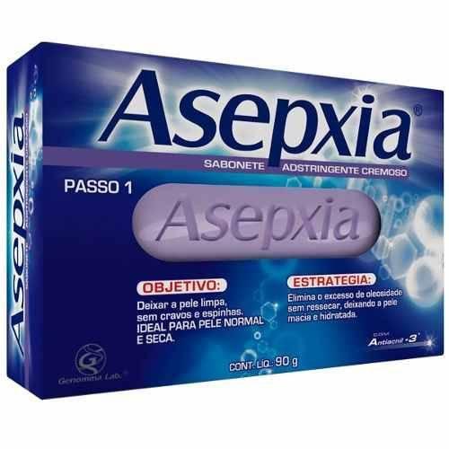 Asépxia Sabonete Adstringente Cremoso 90g