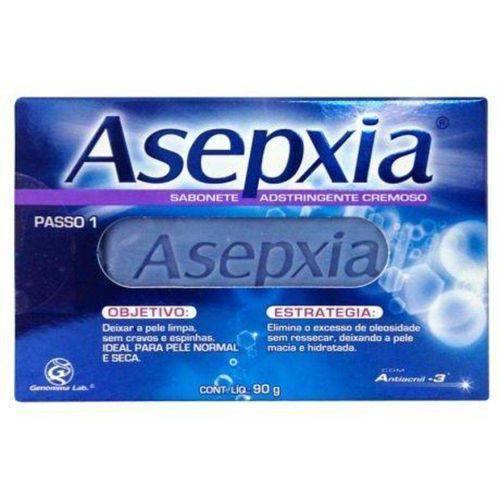 Asepxia Sabonete Adstringente Cremoso 90g
