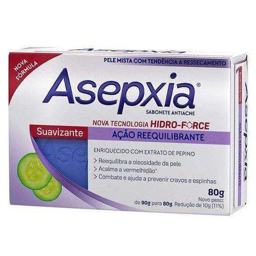 Asepxia Sabonete Facial Antiacne Suavizan 80gr