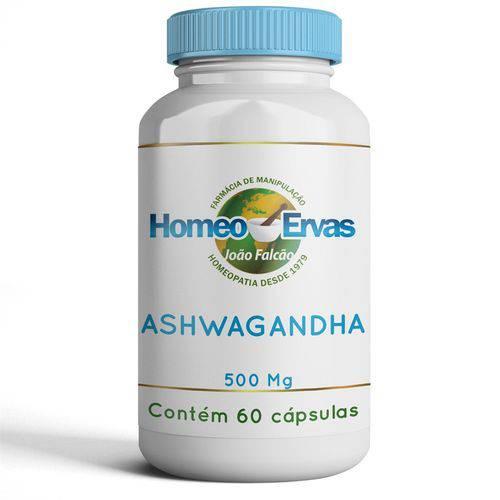 Ashwagandha 500 Mg - 60 Cápsulas