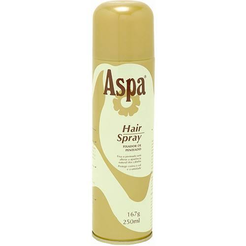 Aspa Hair Spray Fixador de Penteado 250 Ml