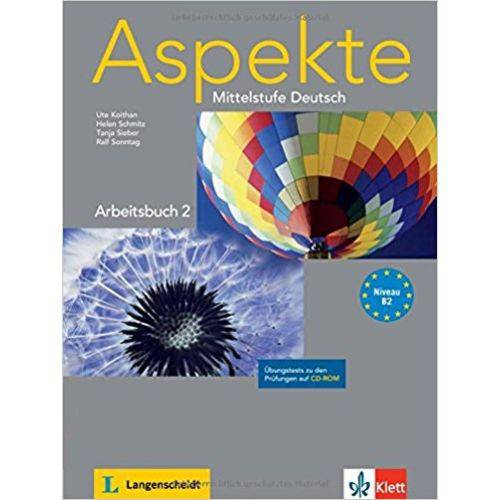 Aspekte 2 B2 - Arbeitsbuch Mit CD-ROM - Klett-langenscheidt