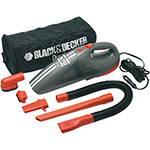 Aspirador Automotivo Black & Decker Ciclon 12V com 5 Acessórios e Bolsa