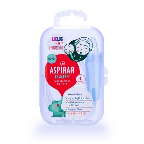 Aspirador Nasal - Aspirar Baby LikLuc com Estojo
