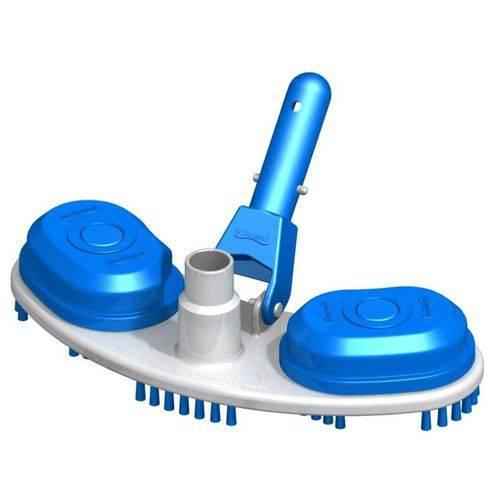 Aspirador Plástico com Escova para Piscinas Slim